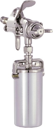 Detail Paint Sprayer Gun - Pattern and Fluid Control Handheld Sprayer w/ 8-ounce Anti-Drip Canister (Campbell Hausfeld DH550000AV)
