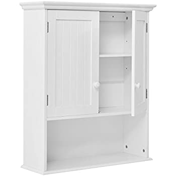 wall mount bathroom cabinet storage organizer oak mirror no with towel bar