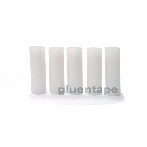 All Purpose Hot Melt Glue Stick 1 inch x 3 inch, 25 lbs by GlueNTape (Image #1)