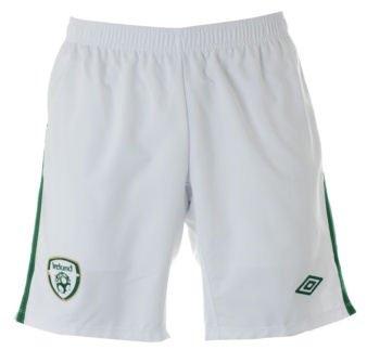 2010-11 Ireland Umbro Home Shorts