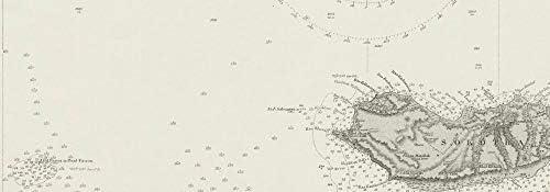 Amazon.com: Gulf of Aden. Yemen Somalia Socotra. Admiralty ...