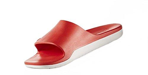 adidas Aqualette Cloudfoam, Zapatos de Playa y Piscina para Hombre Rojo (Core Red/footwear White/core Red)