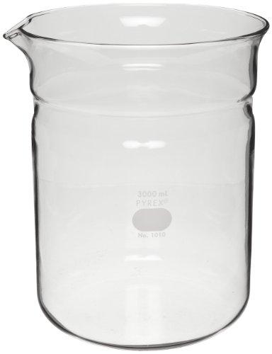 Corning Pyrex 1010-BO Glass 3 Liter Replacement Beaker by Corning