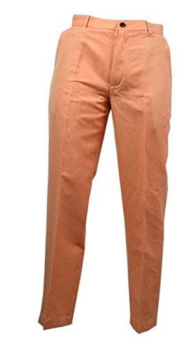 Brooks Brothers Mens Clark Orange Trousers Pant (36/32)