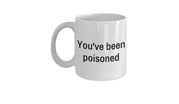 Taza de Halloween - Has sido envenenado - Idea divertida del ...