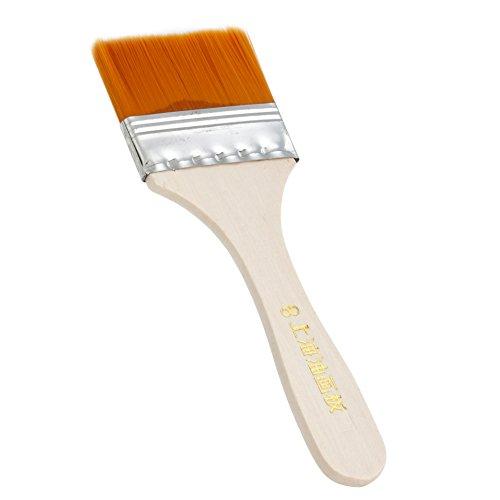 MEXUD 12Pcs Wooden Oil Painting Brush Artist Acrylic Panit Tool Kit Art Supply - Frames Glasses Chubby Faces For