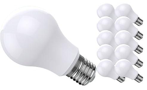 10x LEDMAN E27 LED Lampe 12 Watt – Sehr helle E27 LED Lampen – LED ...