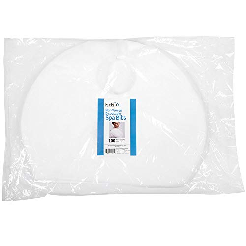 (For Pro Non-Woven Disposable Bib, 100 Count)