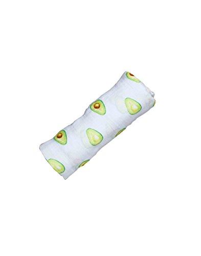 Organic Muslin Swaddle (Avocado)