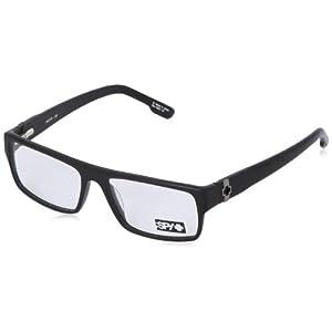 Spy Vaughn Rectangular Eyeglasses,Matte Black,54 mm