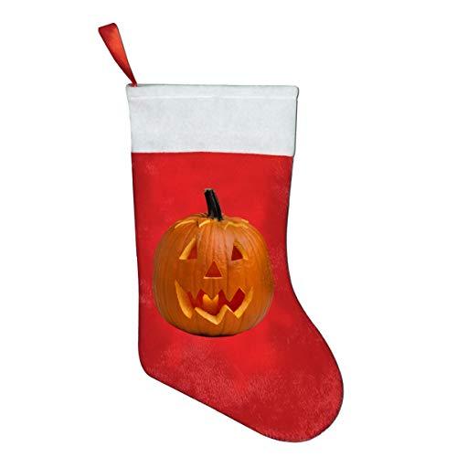 RobotDayUpUP Classic Pumpkin Carving Christmas Santa Stocking Decorations