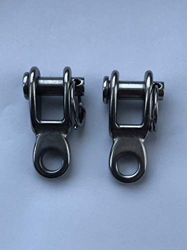 2 Pieces Stainless Steel 316 Rigging Toggle 3/8