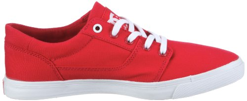 DC Shoes Bristols Canvas Womens Shoe D0303113-1 - Zapatillas de tela para mujer Rojo (Rot/Athletic Red/White)