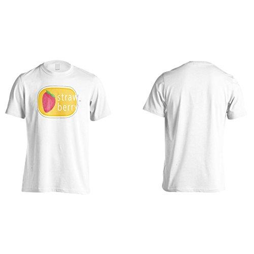 Neue Erdbeerfrucht Leckere Neuheit Herren T-Shirt l356m