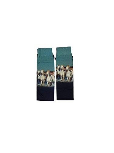 Zocks Ladies Boot Socks Beach Horse - Ovation Socks