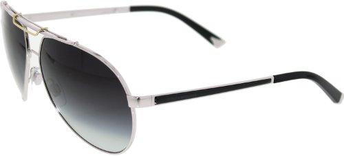 DOLCE&GABBANA D&G DG Sunglasses DG 2105 SILVER 05/8G - Sunglasses For D&g Men
