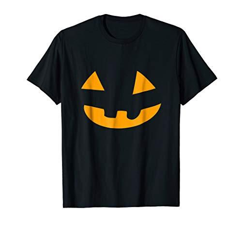 Jack O'Lantern Scary Face Smiling Pumpkin Halloween T-shirt