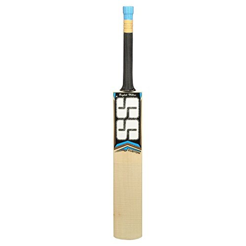 SS Size 4,5,6 English Willow Leather Ball Cricket Bat, Exclusive Cricket Bat for Junior with Full Protection Cover (4, Custom)