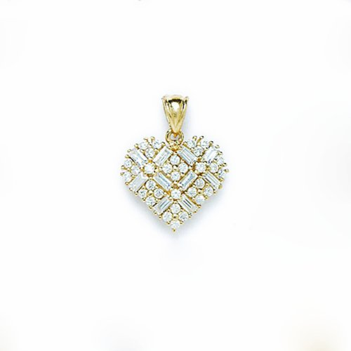 14 k or Coeur Amour P72