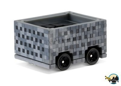 Hot Wheels Minecart Cart /& Craftable Mine Box Minecraft Mini buildable Figure pens Items 8-bit Game Design MC AYB Activity School Pouch Stickers Stationary