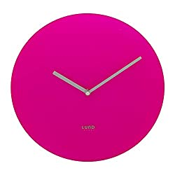 Lund-London Neon Wall Clock - Pink