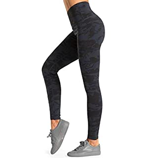 Dragon Fit Compression Yoga Pants with Inner Pockets in High Waist Athletic Pants Tummy Control Stretch Workout Yoga Leggings (Medium, 2Camo-2 Inner Pockets)