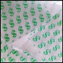 100 Mini Ziplock Baggies Apple Brand High End Quality $ 1510 $ Green Dollar Design Print 1.5″ X 1″