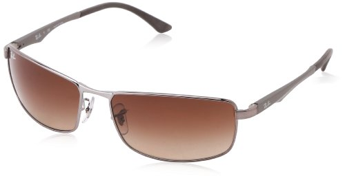 aefce34662 Ray-Ban 0RB3498 Rectangular Sunglasses (B00A2N7U3A)