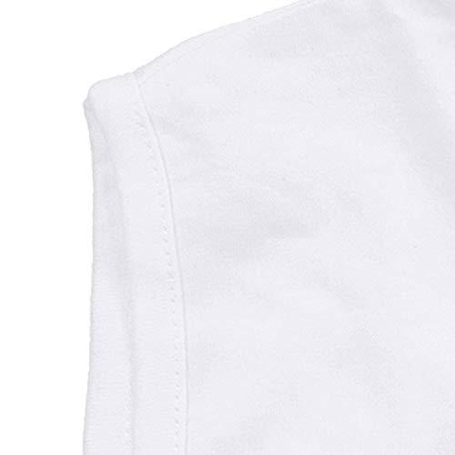 Taille Jusqu'au 'rod' By Grande Débardeur 10xl Blanc Adamo C6wqXZxFq