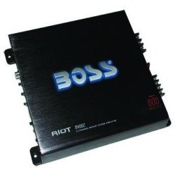 Boss R4002 800w 2 Ch Riot Series Car Audio Amplifier Amp 2 Channel 800 Watt (Amplifier Series Riot)