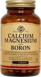 Solgar Calcium Magnesium Plus Boron (250 Tablets), Kosher Boron