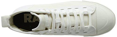 G-STAR RAW Scuba II Mid, Sneaker a Collo Alto Uomo Beige (Milk 111)