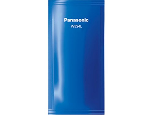 Replacement Cleaning Solution - Panasonic Men's Shaver Replacement Cleaning Solution for Automatic Clean and Charge System, 3-Pack (WES4L03)