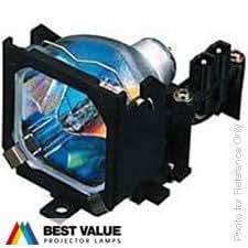 Lámpara de proyector Alda PQ LMP-C121 para SONY VPL-CS3 VPL-CS4 VPL-CX2 VPL-CX3 VPL-CX4 Proyectores, módulo de la lámpara con la caja
