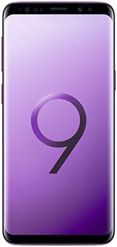 Samsung Galaxy S9 (SM-G960F/DS) 4GB / 64GB 5.8-inches LTE Dual SIM Factory Unlocked - International Stock No Warranty (Lilac Purple)