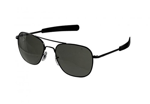 Gray Pilot Sunglasses - 1