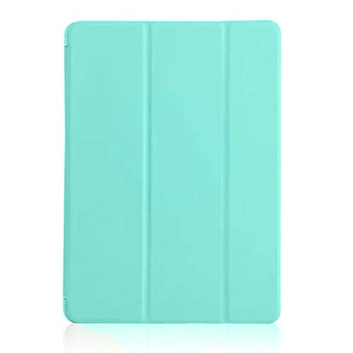 Protector Leather Faux Case (shiYsRL iPad Tablet Case, Lightweight Magnetic Faux Leather Flip Stand Smart Auto Sleep/Awake Case Cover for iPad Mini 4 Pro 10.5 Mint Green for iPad Mini 1/2/3)