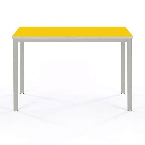 Buro Strip Edge Canary Yellow Metalliform MEET-127-B-LG-Canary Yellow Meeting Table