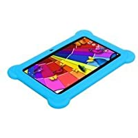 Kocaso Kid's Android 8GB 7' Tablet Bundle - Blue (DX758)