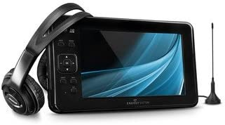 Energy Sistem TV3190 - Televisor multimedia portátil, LED, pantalla 9 pulgadas, HDTV, color negro: Amazon.es: Electrónica