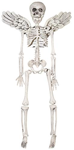 Medium Winged Skeleton Hanging Prop, 14 7/8 Inch