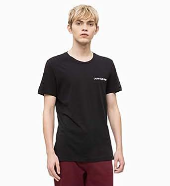 Calvin Klein Jeans Men's Slim Organic Cotton T-Shirt, Black, S