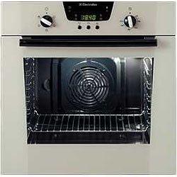 electrolux 90cm oven. Electrolux EOB6630 Cream Cooker 90cm Oven