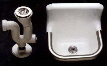 Good Heavy Duty Service Sink   Undrilled   24 X 20
