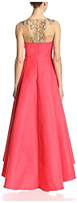Marchesa Notte Women's Embellished Sleeveless Gown