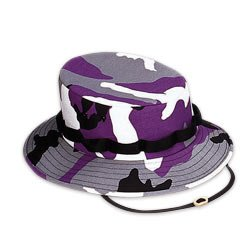 Jungle Hat Rothco (Purple Camouflage Jungle Hat (X-Large, Purple Camouflage))
