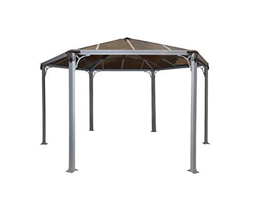 Palram Palermo Garden Gazebo for Robust Structure Year-Round Use, 300 x 300, 3000