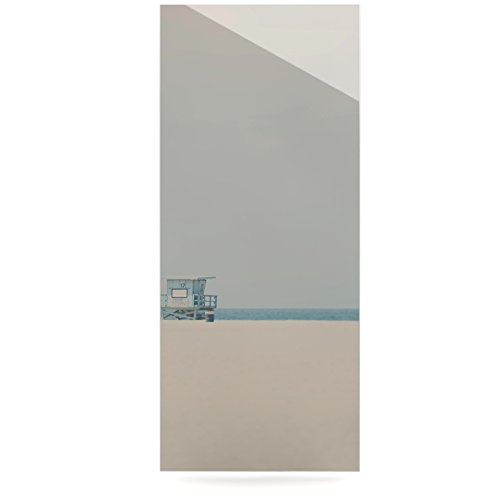 Kess InHouse Laura Evans Tower 17 Coastal Luxe Rectangle Panel 24 x 36