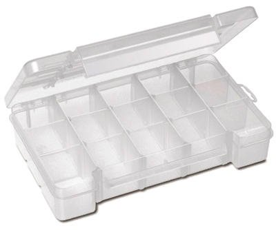 Akro-Mils Parts Storage Case in Small [Set of 12]