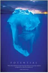 Scenery Posters: Potential - Iceberg Poster - 91.5x61cm